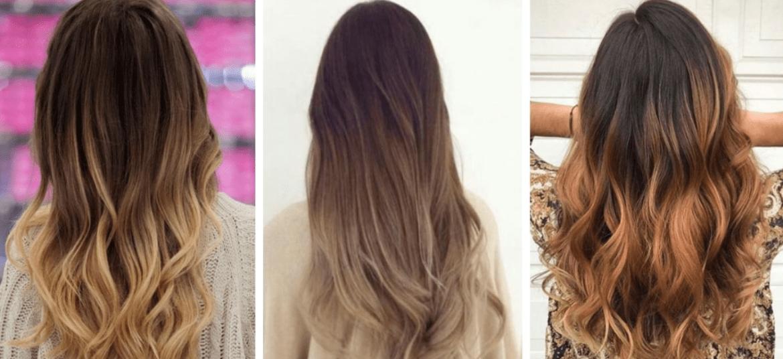 ombré hair modelos