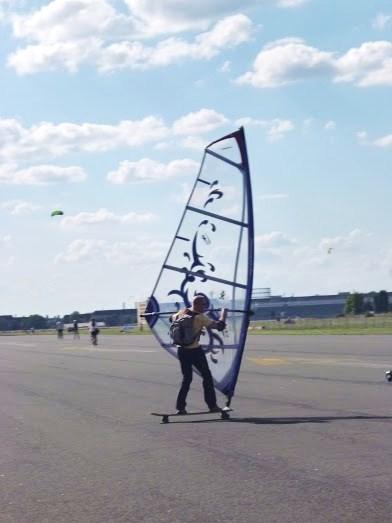 Tempelhof - wind skates