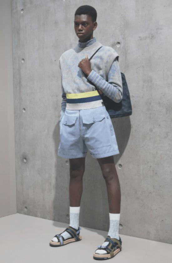 Silhuetas masculinas: blusas com elástico deixam o visual acinturado
