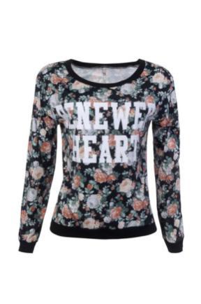 blusa sport floral longa R$ 49,90_425x640