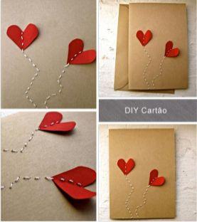 como fazer cartão de dia dos namorados personalizado