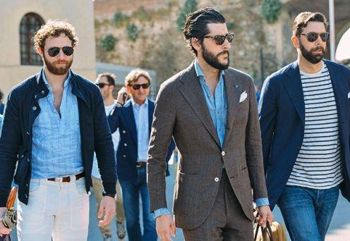 Moda masculina, gravata gola e colarinho (20)