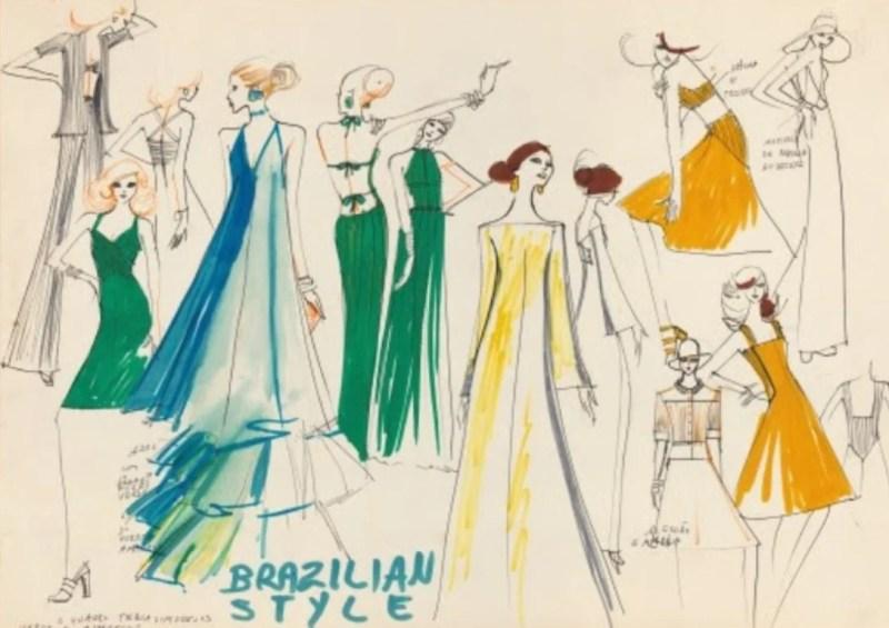 """""""Brazilian Style"""", de Alceu Penna."""