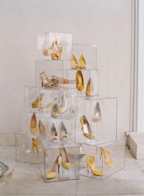 arvore de natal com sapatos