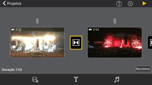 editando vídeo com Perfect video 3.0