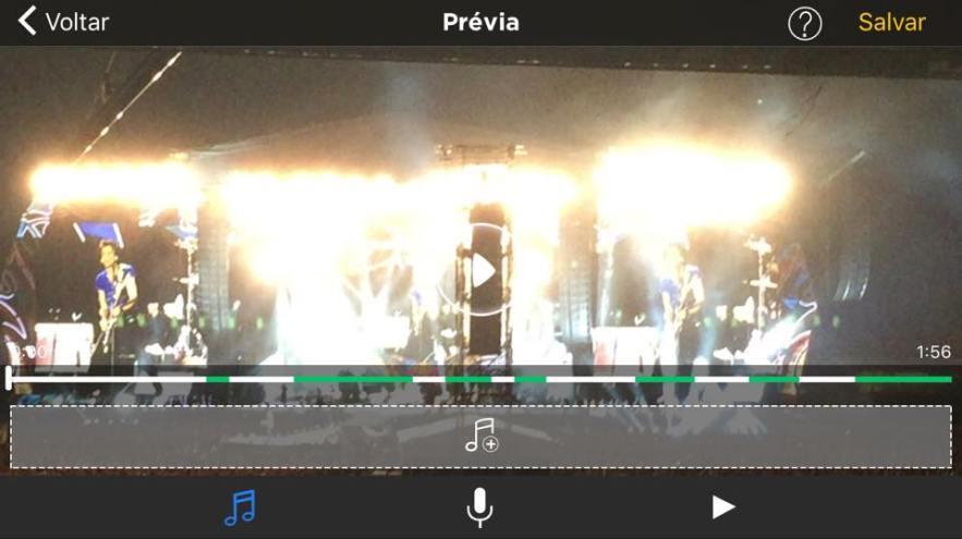 editando vídeo com Perfect video 4