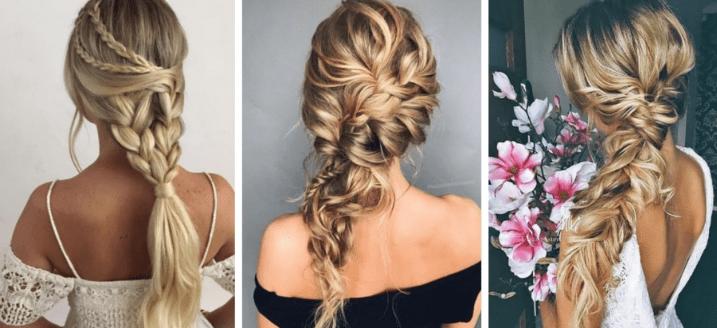 penteados com tranças para casamento
