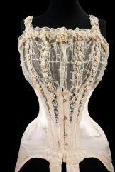 Corset de Casamente de 1890's 1905
