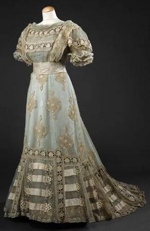 Vestido de 1900