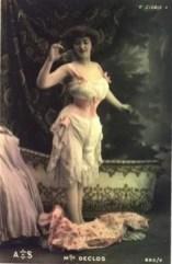 Lingerie de 1890's 1905