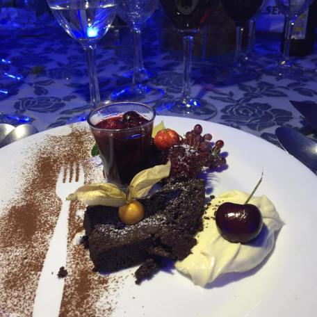 Sobremesa divina do chef Alessandro Segato