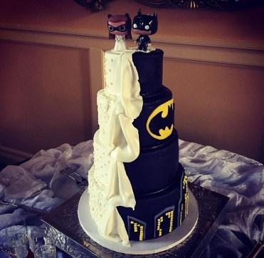 Bolo casamento Batman