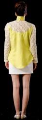 Costa blusa amarela Lizzi