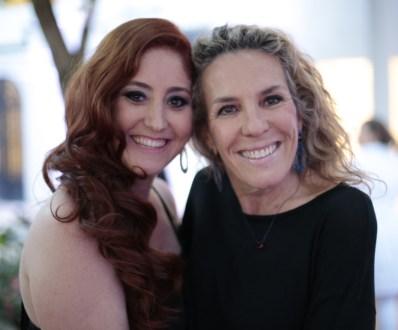 Flávia Lopes e Diane Goossens