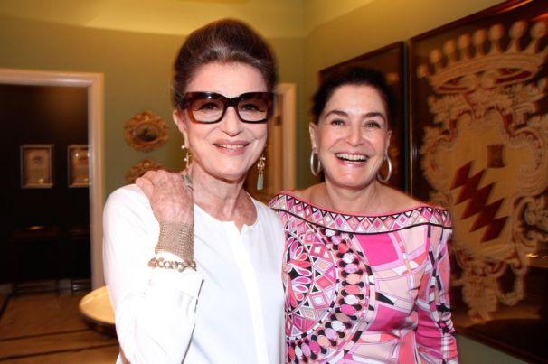 Costanza Pascolato e Gloria Kalil