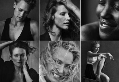 Calendário Pirelli 2017 - Homenagem às mulheres