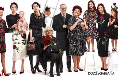 Campanha Dolce & Gabbana Fall 2015