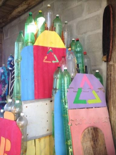 Projeto Prancha Ecológica- Eco Garopaba - Reciclagem - Pranchas de gafarra PET 11