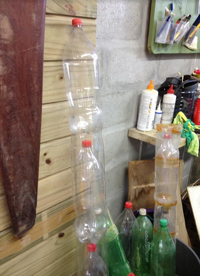 Projeto Prancha Ecológica- Eco Garopaba - Reciclagem - Pranchas de gafarra PET 6