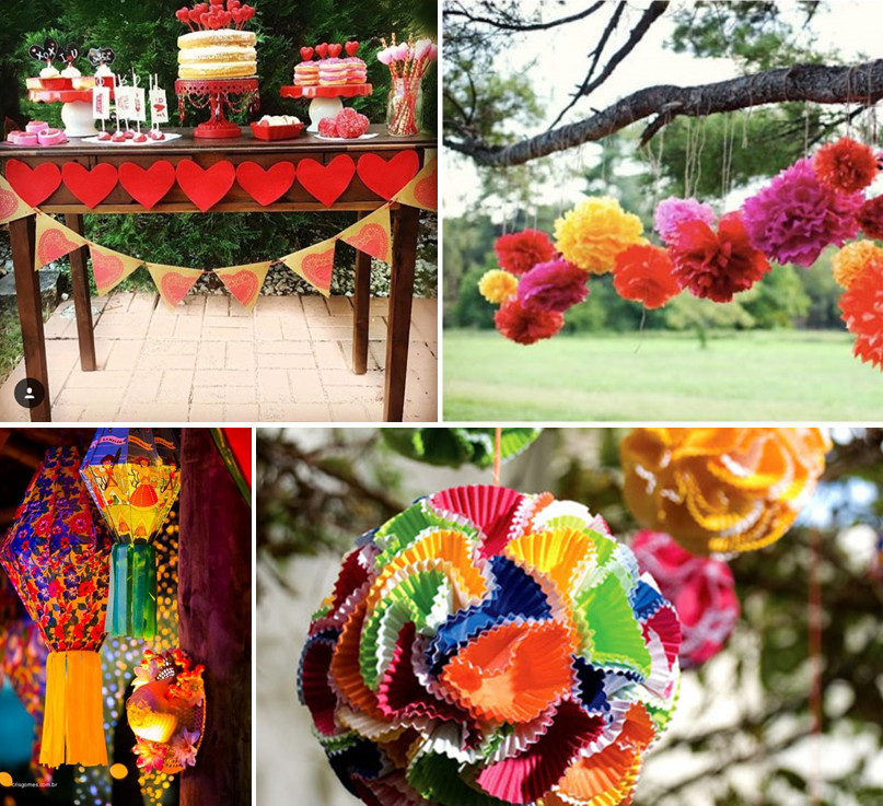 decoração para Festas Juninas