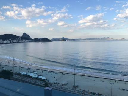 Vista do Hotel Emiliano