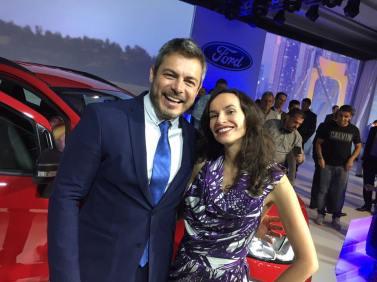 Denise Pitta e Luigi Baricelli