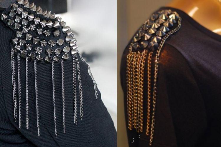 duas opções de abadás masculinos com ombro bordado