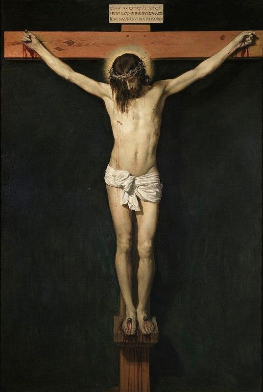 Cristo na Cruz, 1632. Crédito: Diego Velázquez.