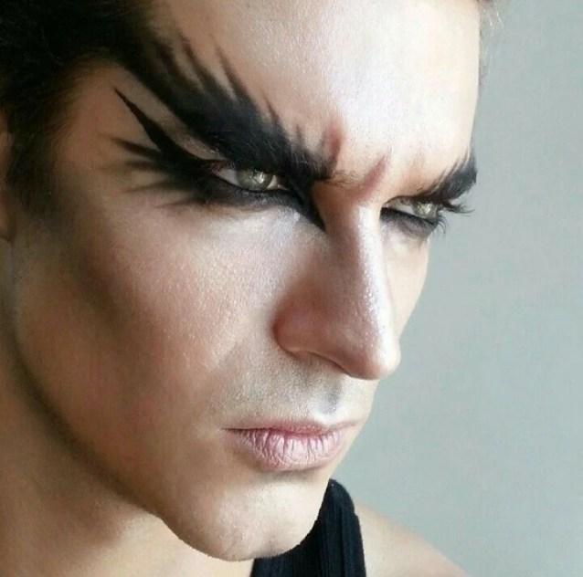 maquiagem masculina facil de fazer em casa
