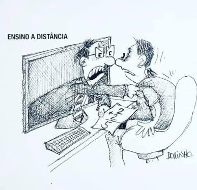 """exposição de cartoons """"Construindo a cidade MIL"""" do prof. Dorinho Bastos do CEACOM da ECA-USP 9871"""