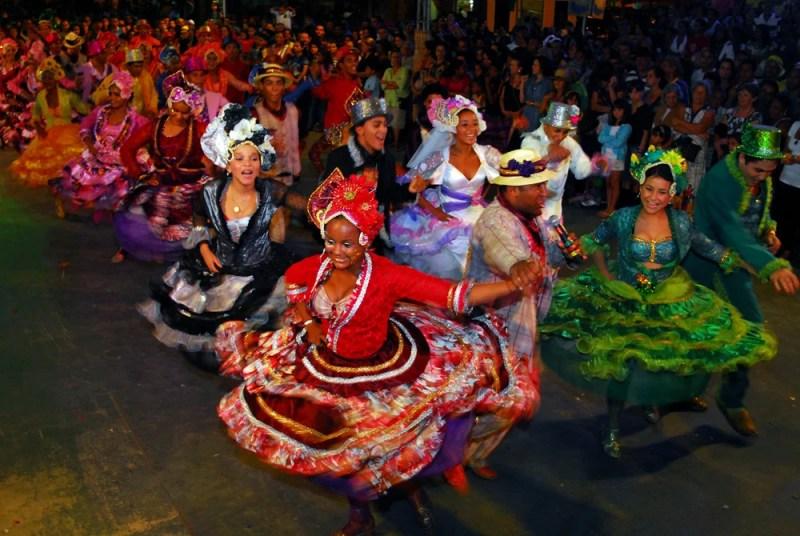 Quadrilha junina do estado de Sergipe, Brasil. 2010.