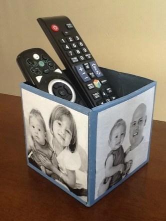 Porta controle remoto - Presente Dia dos Pais
