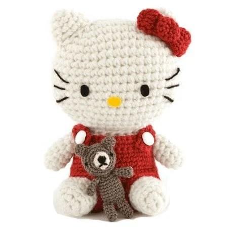 Imagem da Hello Kitty de amigurumi