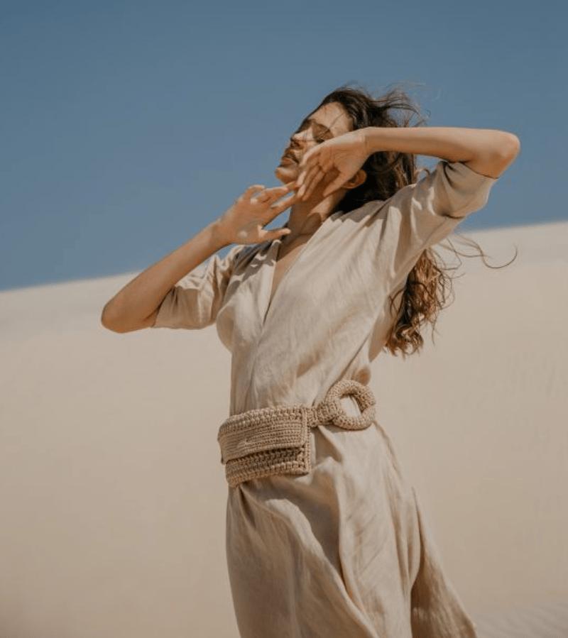 Bolsa de crochê da Catarina Mina