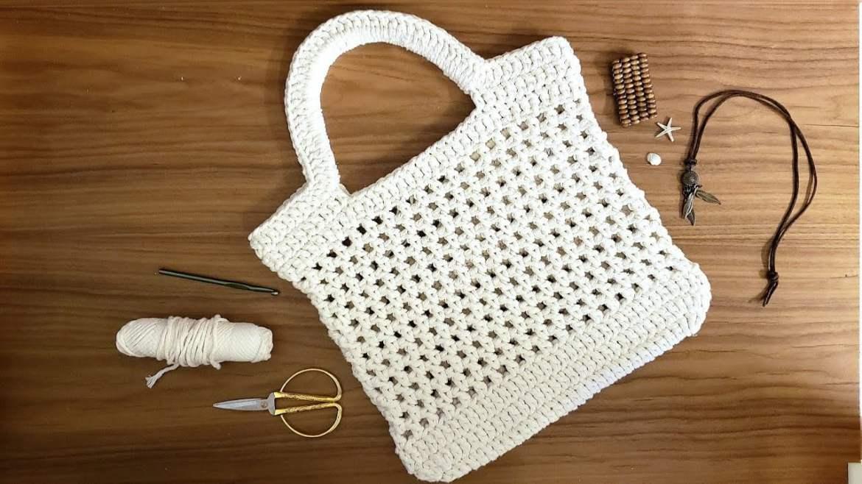 crochet facil bolsa