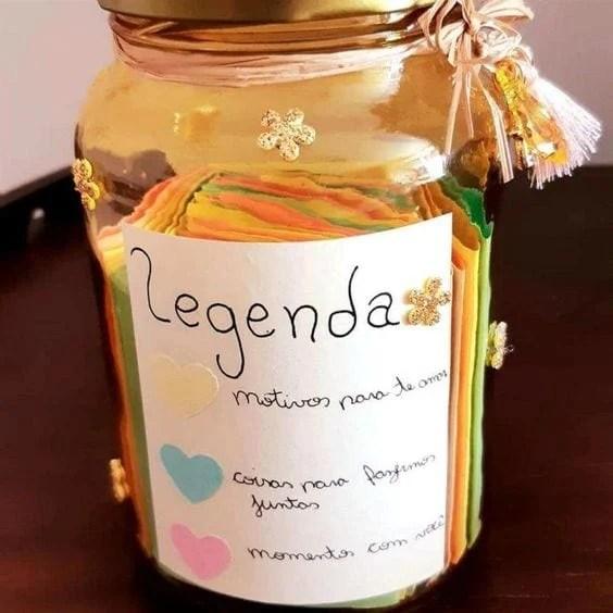 presentes criativos para namorado potinho do amor