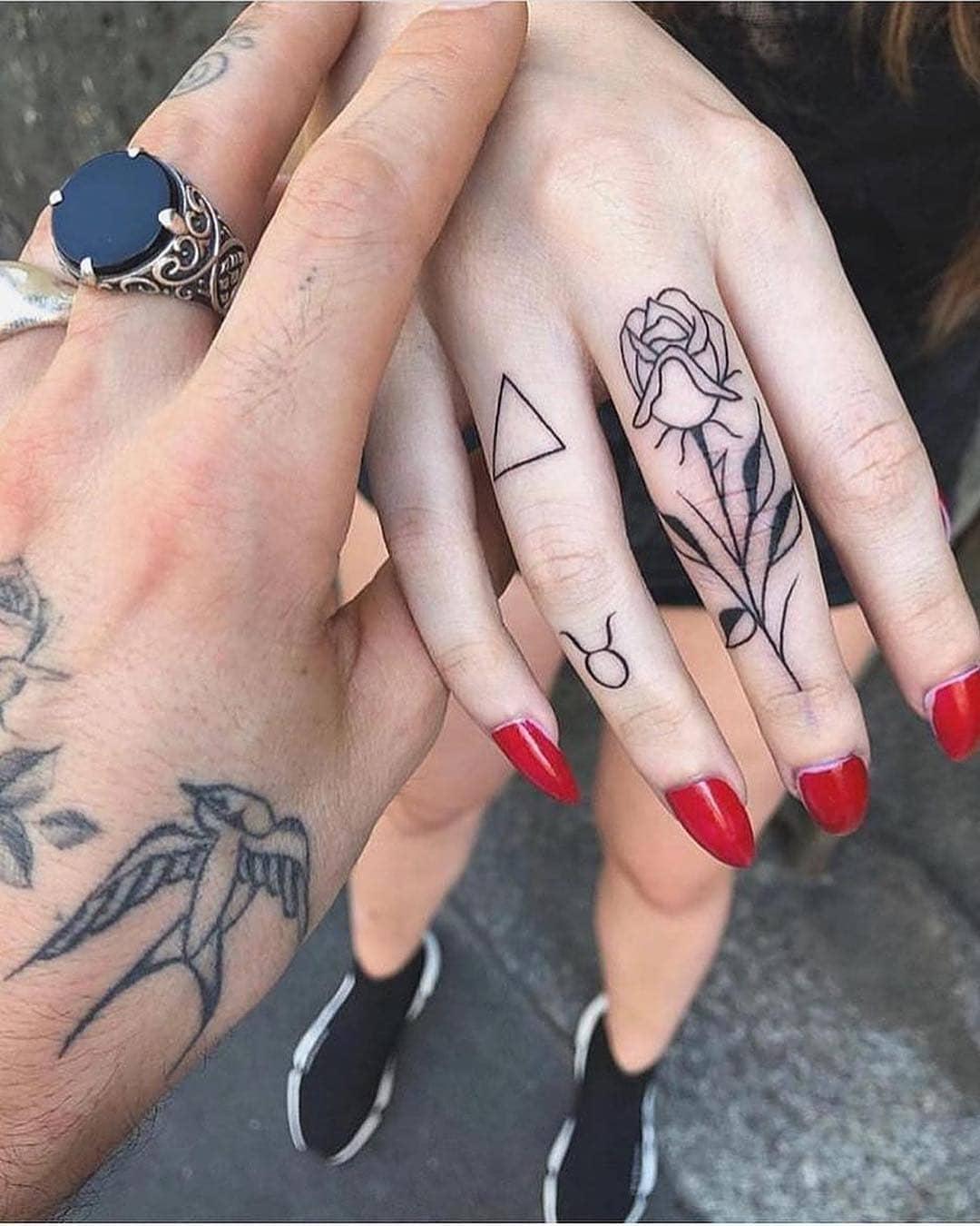 tendencias para tatuagem 2021 5 dedos