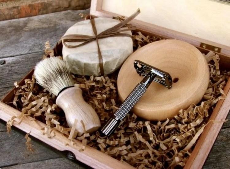 Kit completo de barbear - Presente de Dia dos Pais
