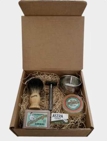 Kit de barbear para o Dia dos Pais