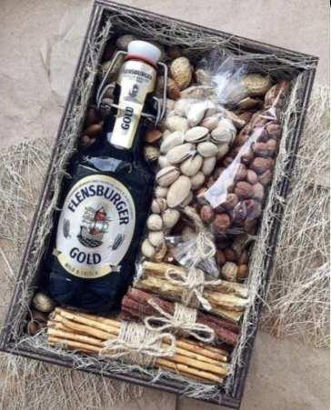 Kit drink e grãos - Dia dos Pais