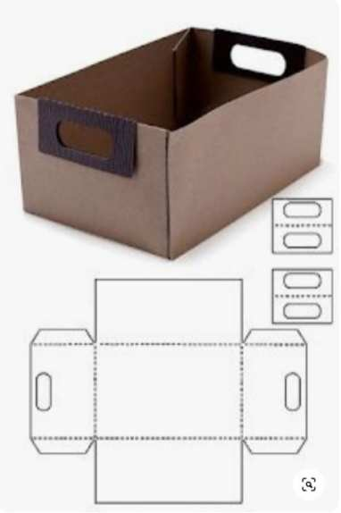 Molde caixa para kit boteco do papai