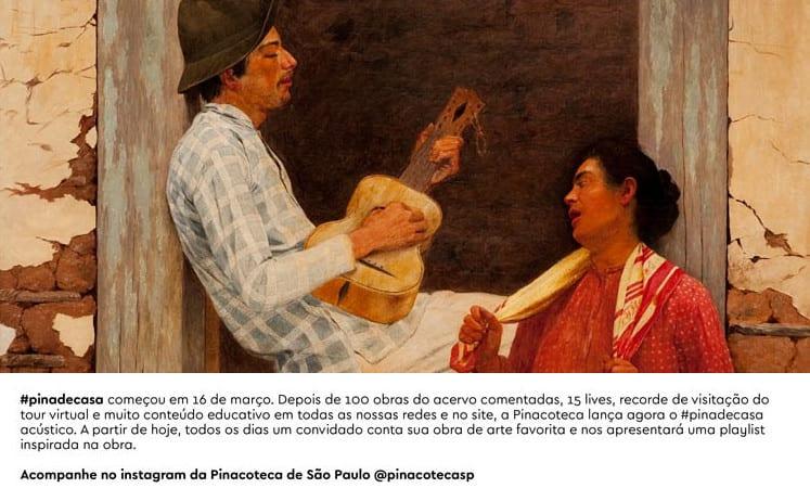 O futuro do museu - A Pinacoteca de São Paulo e sua iniciativas para chegar a casa das pessoas