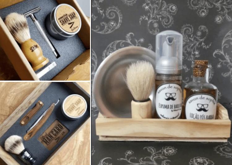 Dia dos pais - Kit de barbear