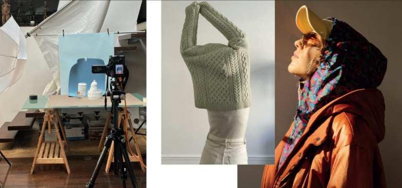 Imagens da moda minimalistas com pegada futurista - Pensando a moda do amanhã