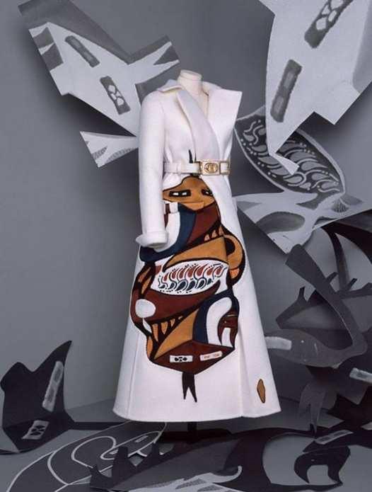 Casaco de Alfaiataria com ilustração contemporanea - Inspiração New Look Dior Inverno 2020 - 2021