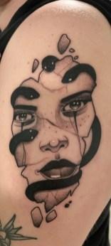 Tatuagem medusa 525