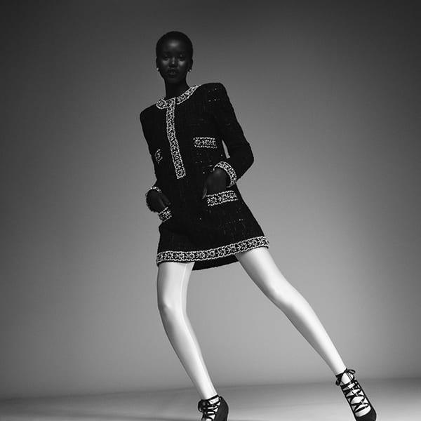 Look Chanel inverno 2021