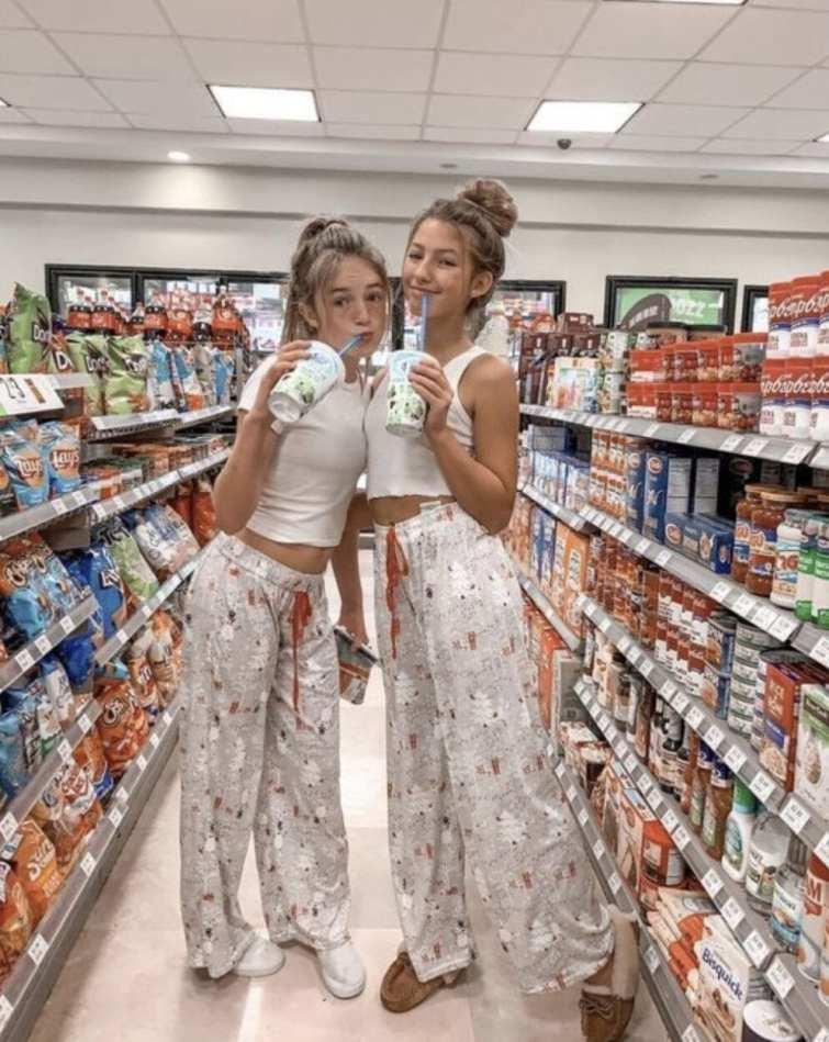 Foto no supermercado