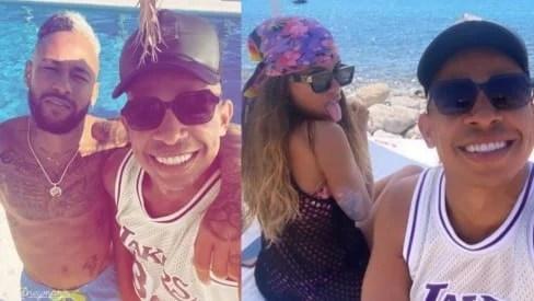 Anitta e Neymar estão juntos em Ibiza 3