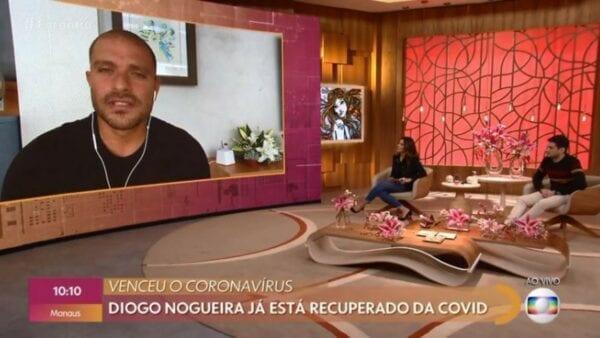 Diogo Nogueira está curado da Covid-19 eeeee